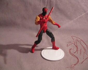 "Custom Action Figure - Make To Order! Daredevil Noir 3 3/4"""