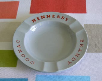Delicate Hennessy Brandy Cognac Advertising Ashtray by Wedgwood.