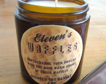 Elevens Waffles - Stranger Things scented soy candle