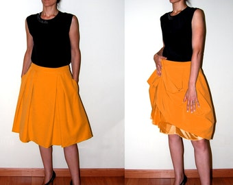 sizes 6 to 18. Pdf pattern Fifties Skirt. Sewing pattern for women. SEWING PATTERN DESIGNS