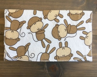 DEAL of the WEEK - flannel burp cloth