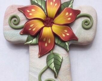 Dekorative Kreuz Magnet 1314
