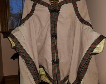 Civil War Era Ladies' Velveteen Cloak