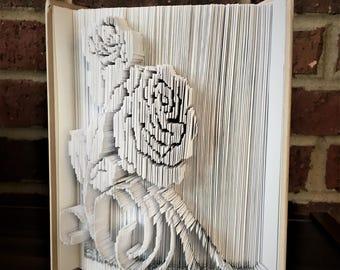 Rose Book Folding