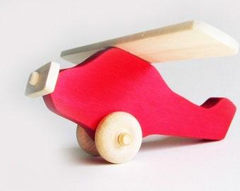 Airplane Eco-friendly Wooden Toy Imagination Kids Waldorf Heirloom