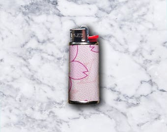 Cherry Blossom LV Mini Lighter Case