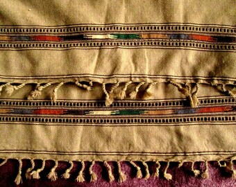 Hand Woven Wool Lap Blanket, Throw