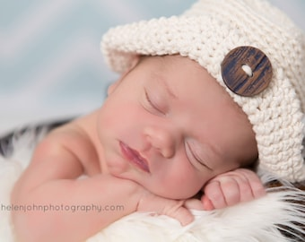Crochet Pattern Baby, Crochet Newborn Hat Pattern, Newborn Sun Hat Pattern, Newborn Crochet Pattern, Crochet Photo Prop Pattern