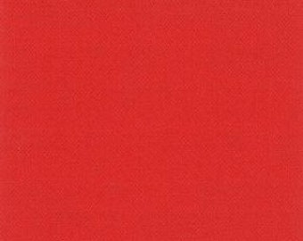 cayenne Moda Bella Solid 9900 256 red cotton quilting fabric