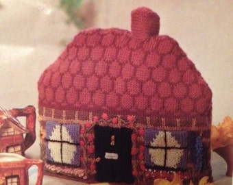 Country Cottage Tea Cosy Knitting Pattern