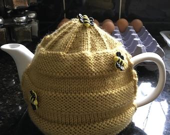 Bee hive tea cozy