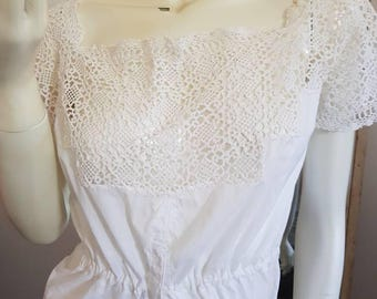 Beautiful Victorian lace camisole.