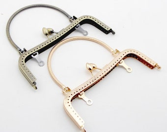 1Pc Purse Frame 16.5CM Bag Purse Frame Handbag Frame Sewing Frame Handle PFM429