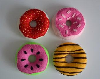 Felt Donuts, Pretend Play Donuts, Pretend Donuts, Easter Gift Ideas