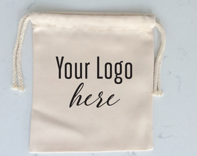 Custom Printed Logos for Corporate Company Customer Attendees Events, Conferences, on Favor Freebie Hangover Gift Bags - Custom Logo