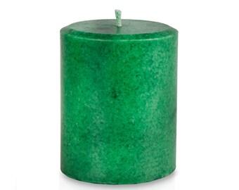 Balsam Fir Candle Pillar for Christmas Holidays