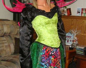 Neon Fairy Costume