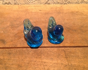 Set of 2 Blue Birds Of Happiness