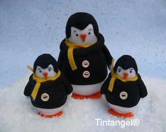 Winter friends - Penguin - PDF Pattern - Download