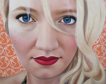 True Beauty - Katrina Schaman  -  By Toronto Portrait Artist Malinda Prud'homme