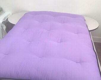 "New XL 50X86x3"" Thai Shiatsu massage yoga untreated cotton mat a practitioners dream"
