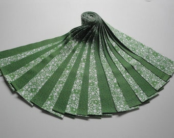 """Jelly Roll-""""Green Floral w/Blender"""" by Red Rooster"""