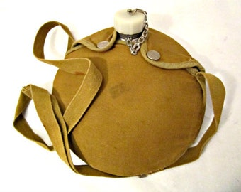 Vintage Boy Scout Canteen, Water Canteen