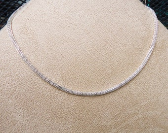 SUPER ARTISAN'S SALE  4 Mesh chain necklaces for European charms and beads at a great price