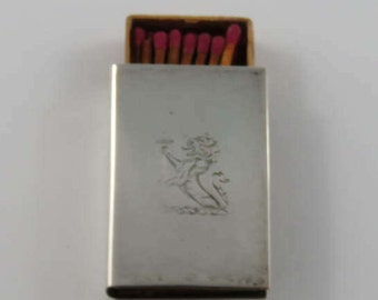 Sterling Silver Match Box Cover