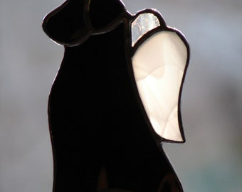 Stained Glass Labrador Retriever Angels
