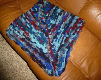 multicolor shawl