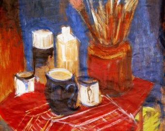 Still Life - Original Acrylic Painting