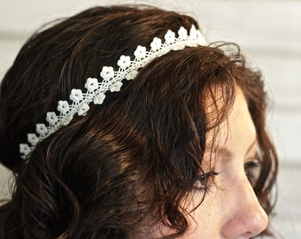 SALE! Floral Lace Headband