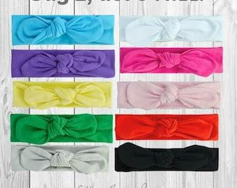 8 FREE HEADBANDS, Baby Headband , Newborn Headband,Knot Headband,Preemie,Baby Girl,Infant,Headband,Baby Headbands, Wraps, Baptism, hair bows
