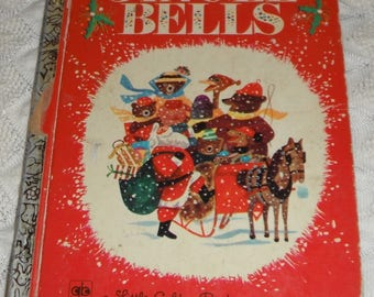 Jingle Bells by Kathleen N. Daly pictures by J. P. Miller Vintage A Little Golden Book 1971