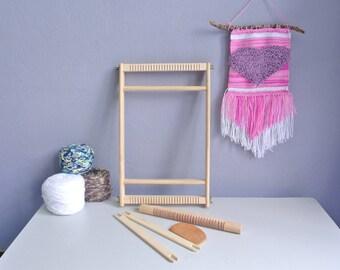 Weaving Loom Kit for beginner,Heddle Bar Loom,Weaving Loom 20 x 40CM,Weaving kit,frame Loom,Tapestry Loom,Loom kit,weaving supplies,Loom