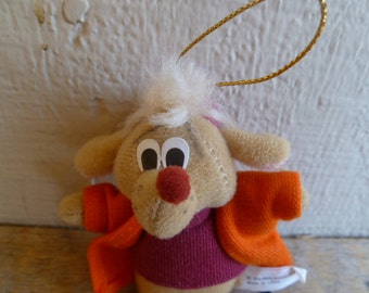 McDonalds Disney's Cinderella Mouse Jaq Jaques Christmas Ornament
