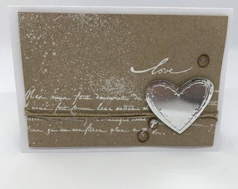 """Card occasions """"Love"""" (wedding, Valentine's day...)"""