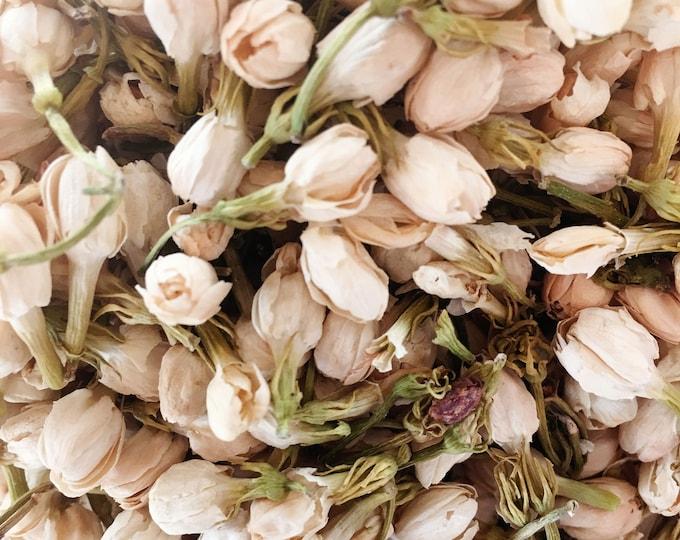 Jasmine Bud | Bulk Herbs 1 oz Dried Flowers | Dried Jasmine Flowers | Jasminum officinale | Jasmine Buds | Dried Flowers