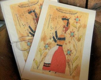 Reap - LIMITED EDITION Folk Art Notecards - from Notforgotten Farm™