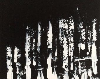 """Acrylic on canvas """"Island grooves"""""""