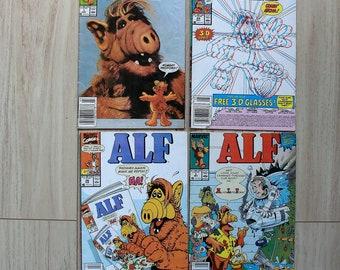 Alf 1988 and 1990 Issues-> Marvel Comics