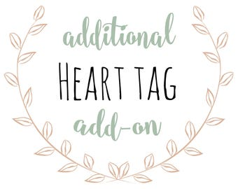 Additional Heart Tag
