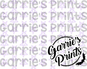 Printable | Star Pattern | Lavender