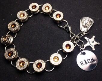 TWD Rick Bullet Casing Bracelet