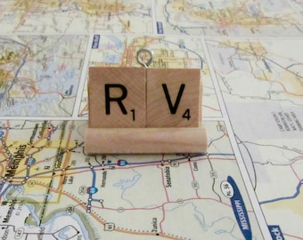 RV Motor Coach Accessories, Gift Sets, Scrabble Word Ornaments