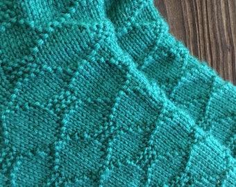 Knitting Pattern; Lattice Work Socks!
