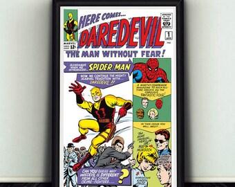 11x17 Daredevil #1 Comic Book Cover Poster Print