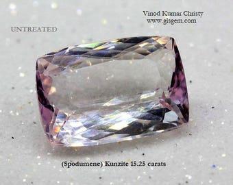 Kunzite 15.25cts
