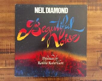 1976 Neil Diamond Beautiful Noise Vinyl Album with Inner Sleeve / PC 33965 / Columbia Records / Vintage / Retro / Music / Rock / Street Life
